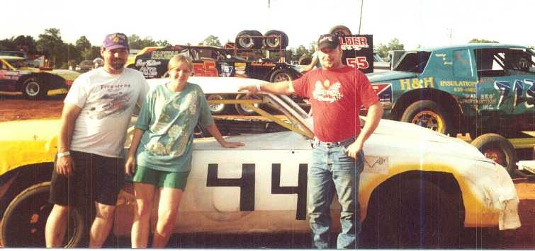 Car # 44 of Danny Dunn