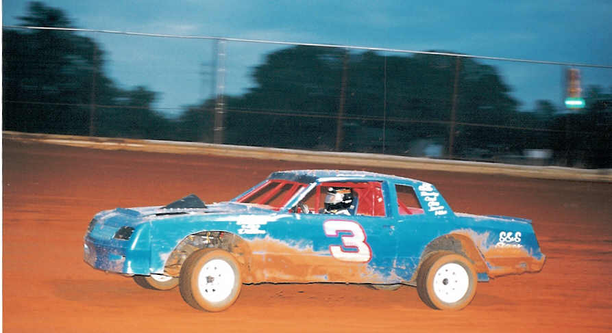 hot laps at Queen City